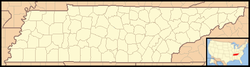 Walling, Tennessee is located in Tennessee