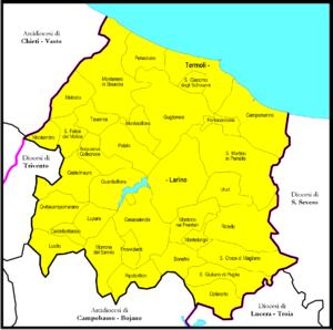 Roman Catholic Diocese of Termoli-Larino - Image: Termoli Larino diocesi