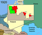 Territorial changes of Poland 1920b