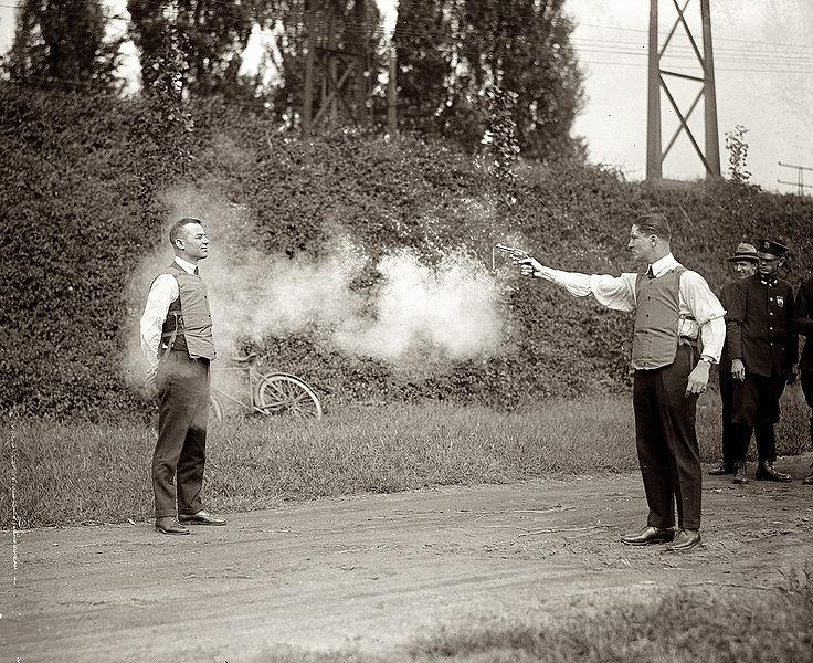 File:Testing bulletproof vest 1923.jpg
