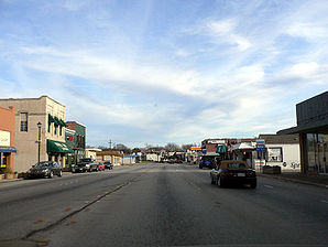 Richardson, Main Street