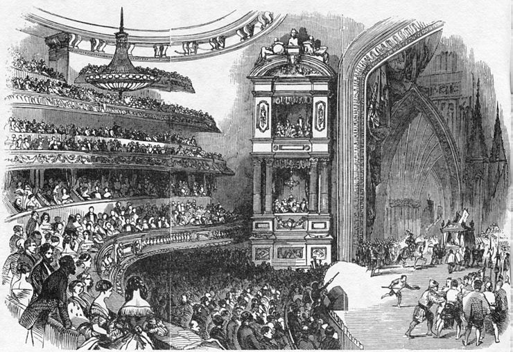 View of the interior during the opening performance Theatre Historique interior view 1847 - Hemmings 1979 pl 6c after p122.jpg