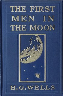 <i>The First Men in the Moon</i> Novel by H. G. Wells