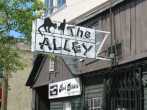 The Alley - The Alley piano bar in Oakland