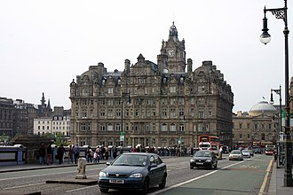 Forte Group - The Balmoral Hotel Situated at the southern end of Edinburgh's North Bridge on the junction with Princes Street. The Balmoral Hotel is now part of the Rocco Forte Hotel Group.