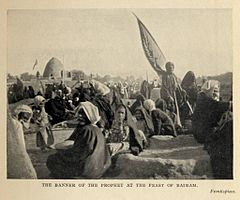 The Banner of the Prophet at the Feast of Bairam. (1911) - TIMEA.jpg