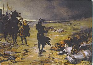 Edward the Black Prince - The Black Prince at Crécy