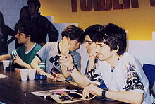 The Bluetones in Bangkok, Thailand in 1996