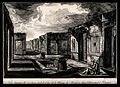 The Cavedium of Surgeon's House, Pompeii; an artist sketchin Wellcome V0014382.jpg