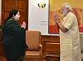 The Chief Minister of Tamil Nadu, Ms. J. Jayalalithaa calling on the Prime Minister, Shri Narendra Modi, in New Delhi on June 14, 2016.jpg