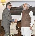The Co-Chair and Trustee, Bill and Melinda Gates Foundation (BMGF), Mr. Bill Gates calling on the Prime Minister, Shri Narendra Modi, in New Delhi on December 04, 2015.jpg