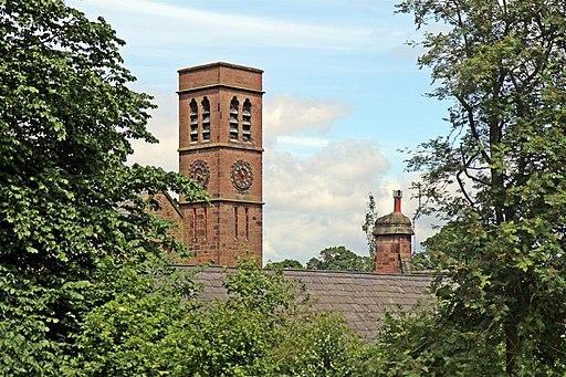 The Coach House Clock Tower, Royden Park, Frankby (geograph 2990050)