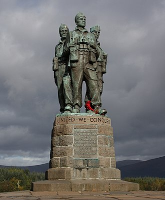 British Commandos - Image: The Commando Memorial (7)