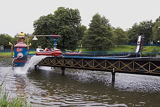 The Flume (Alton Towers) - Image: The Flume, Alton Towers geograph.org.uk 1466159