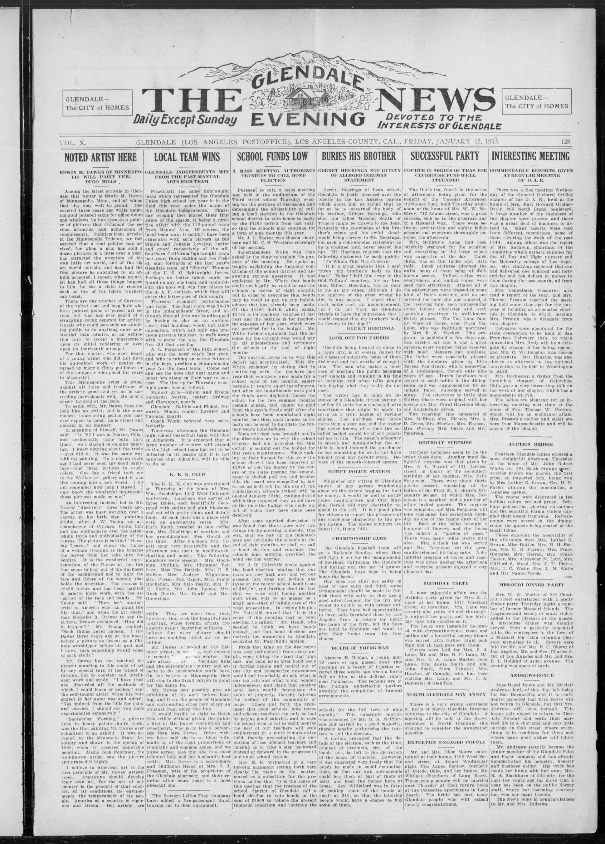 File:The Glendale Evening News 1915-01-15 (IA cgl 002448).pdf ...