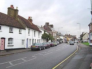 Bushey town in Hertfordshire, England, UK