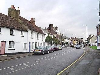 Bushey - Image: The High Street, Bushey geograph.org.uk 84349