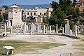 The Horologion of Andronikos Kyrrhestes and the Roman Agora on July 7, 2019.jpg