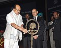 The Minister of State (Independent Charge) for Consumer Affairs, Food and Public Distribution, Professor K.V. Thomas State lighting the lamp to inaugurate the Food Ministers' conference to discuss National Food Security Bill.jpg