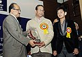 The Minister of State for Agriculture, Consumer Affairs, Food & Public Distribution, Prof. K.V. Thomas gave away the Rajiv Gandhi National Quality Awards 2009, at a function, in New Delhi on January 12, 2011 (1).jpg