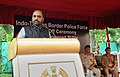The Minister of State for Home Affairs, Shri Hansraj Gangaram Ahir addressing at the flag-off ceremony of the High Power SUVs procured by the ITBP for its BOPs, in New Delhi.jpg
