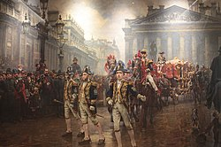 The ninth of november 1888 by william logsdail, guildhall gallery, london