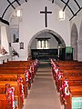 The Old Church Penallt - interior, view up the aisle - geograph.org.uk - 473918.jpg