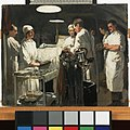 The Operating Theatre, 41st Casualty Clearing Station, 1918 Art.IWMART3750.jpg