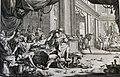 The Phillip Medhurst Picture Torah 310. The plague of frogs. Exodus cap 8 vv 1-7. Mortier.jpg