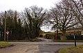 The Ridgeway crosses the road by Icknield House - geograph.org.uk - 1725980.jpg