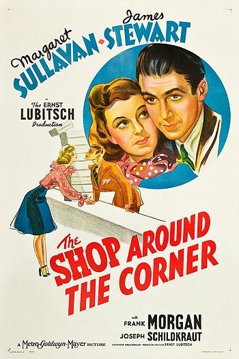 The Shop Around the Corner, poster, 1940