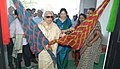 The Union Minister for Culture, Smt. Chandresh Kumari Katoch inaugurating an exhibition on the occasion of International Women's Day celebrations, in New Delhi on March 08, 2013.jpg
