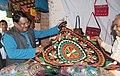 The Union Minister for Tribal Affairs, Shri Jual Oram inaugurated the National Tribal Crafts 'Mela Aadishilp', in New Delhi on November 26, 2014 (1).jpg