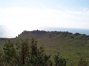 Seongsan Ilchulbong - The Volcanic crater of Seongsan Ilchulbong