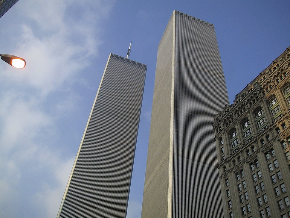 The World Trade Center in New York City, July 28, 2000