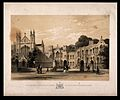 The asylum or school for the blind, Bristol; the courtyard. Wellcome V0012274.jpg