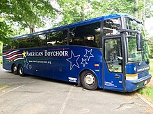 The bus of the American Boychoir School at St. Joseph's Seminary (Princeton, New Jersey).jpg
