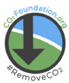 The circle-arrow logo of CO2Foundation.org.png