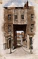 The entrance to Little Ormond Yard, off Great Ormond Street. Wellcome V0013433.jpg