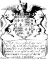 The funeral sermon of Margaret, Countess of Richmond and Derby, mother to King Henry Vii Fleuron T122116-1.png