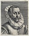 The head and a shoulders of a man with short hair, plaited s Wellcome V0019854EL.jpg