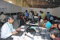 The media persons at work at the 7th Pravasi Bharatiya Divas, in Chennai on January 09, 2009.jpg