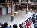 The stage of Shakespeare's Globe Theatre, Southwark - geograph.org.uk - 267646.jpg