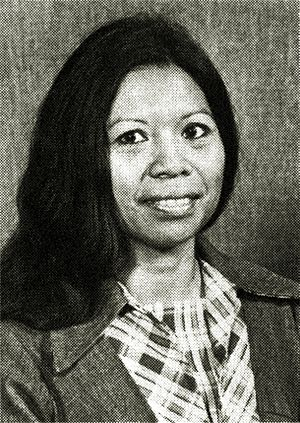 Filipinos in Alaska - Thelma Juana Buchholdt (née Garcia; 1934–2007) was a Filipino-born American lawyer, politician and writer.