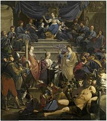 Allegory of the Court of Justice of 'Gedele' in Ghent