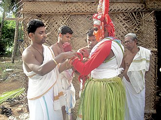 Payyanur - Theyyam at Payyanur