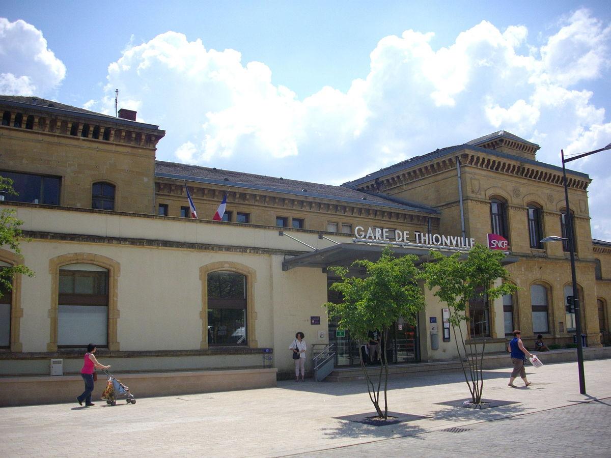 Gare de thionville wikip dia for Piscine thionville