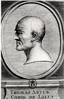 Thomas Arthur, comte de Lally Governor of french India