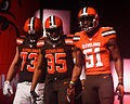 Thomas Bryant Mingo Cleveland Browns New Uniform Unveiling (17128448826).jpg