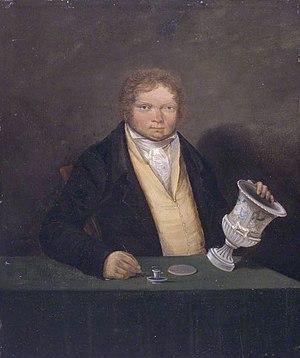 Thomas Pardoe - Self portrait (c. 1810-1820)